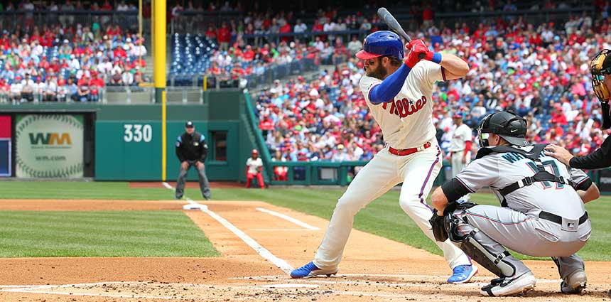 PA sports betting: Bryce Harper