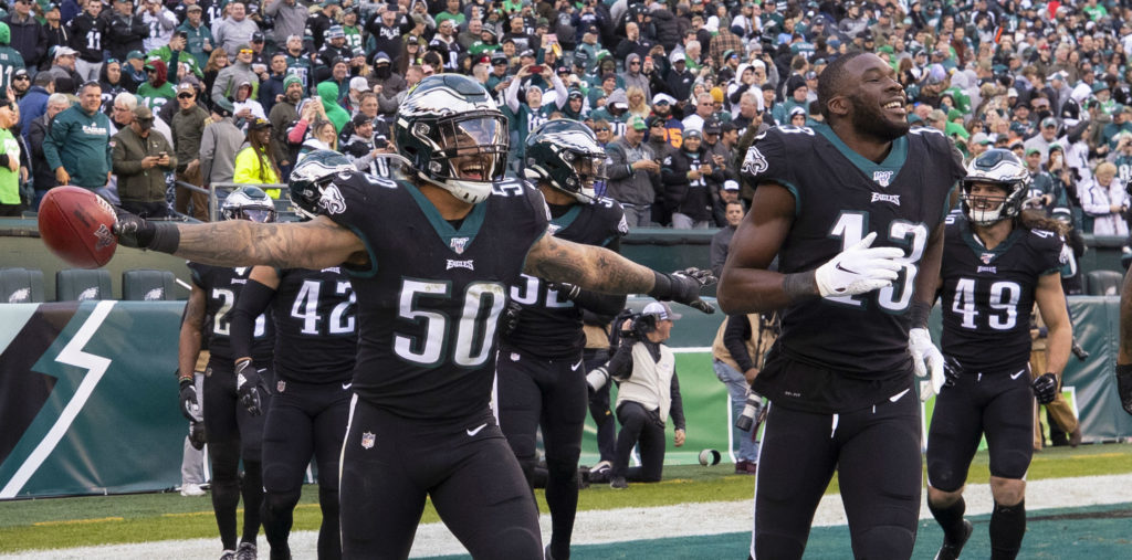 Eagles Play Super Bowl Rematch