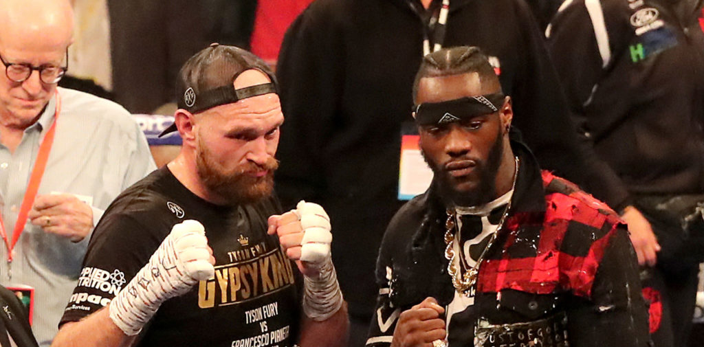 PA sportsbook specials for Wilder vs Fury fight