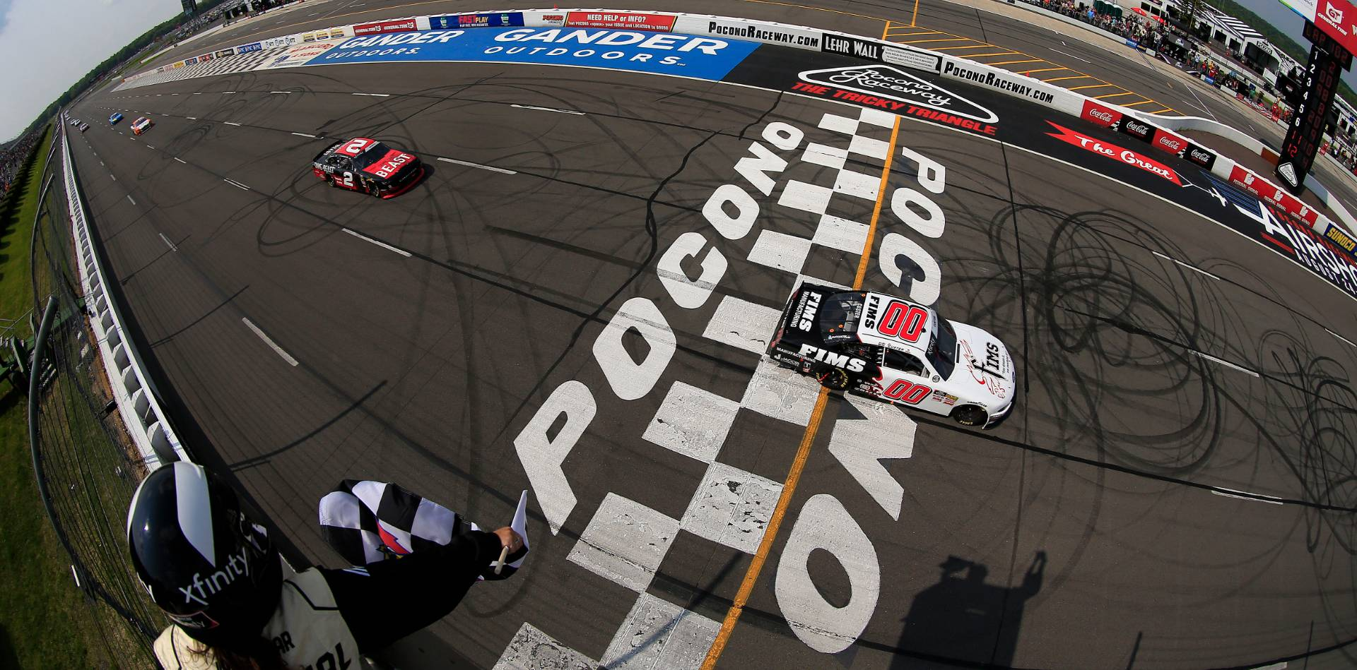 NASCAR races zoom back to PA