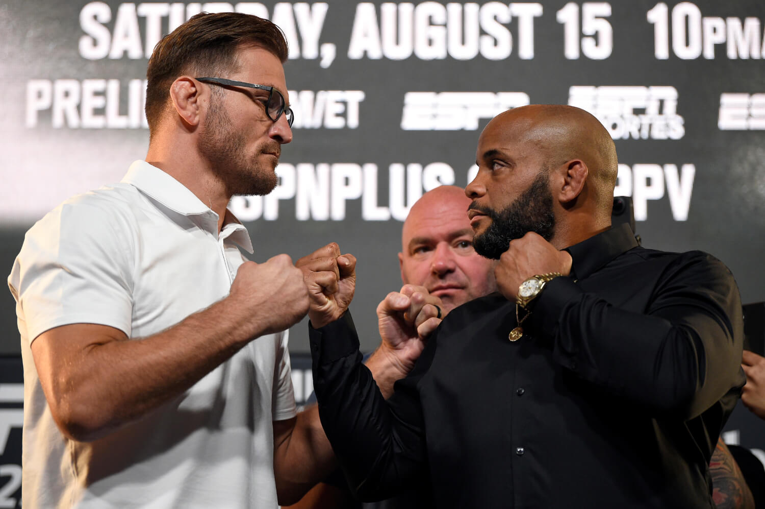 Daniel Cormier and Stipe Miocic face off Saturday for heavyweight supremacy