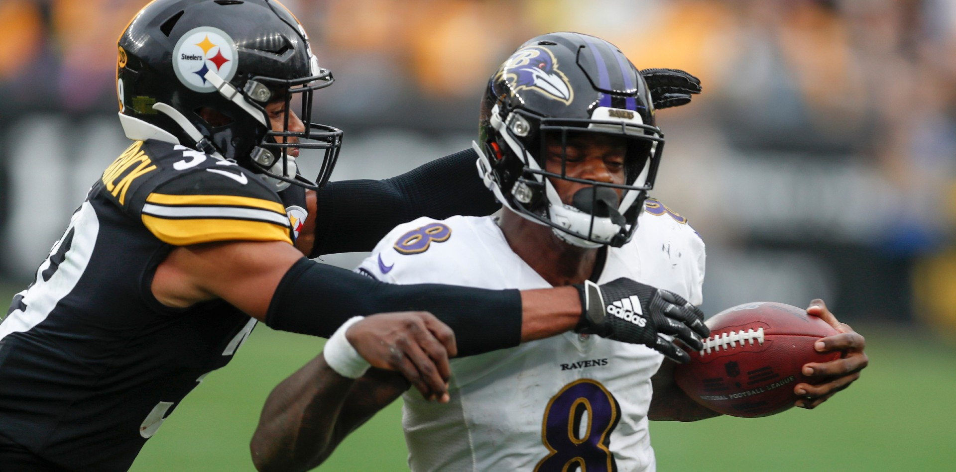 Steelers Underdogs at Ravens in Huge AFC North Battle